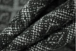 Твид пальтовый ромбы серый PRT-Q5 02111884