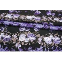 ОТРЕЗ 2,05 М Штапель с твиловым плетением цветы LT 043-H3 13121601-1