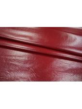 ОТРЕЗ 1,6 М Трикотаж лаке красно-бордовый PRT-I2 14121802-6