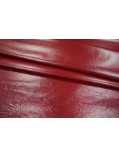 Трикотаж лаке красно-бордовый PRT 14121802