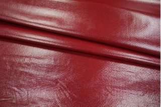 Трикотаж лаке красно-бордовый PRT 028- I5 14121802
