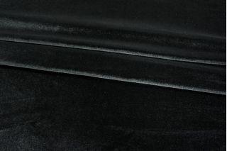 Бархат-стрейч черный PRT-B6 07121801