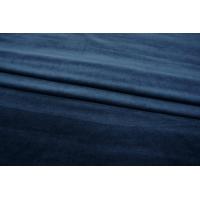 ОТРЕЗ 2,15 М Велюр хлопковый темно-синий PRT 07121805-1