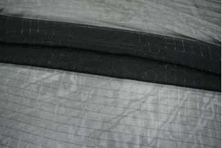 Шифон черный с люрексом PRT-G10 14121809