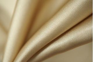 Атлас шелковый золотистый беж PRT1-D5 28121804