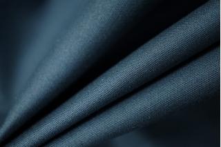 Костюмный хлопок дабл серо-синий PRT-C7 01021906