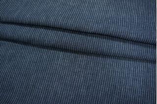 Темно-синий лен в полоску PRT-H5 01021917