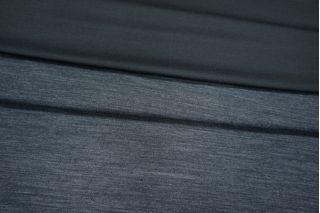 Трикотаж шерстяной двусторонний черно-серый PRT-D5 01021923
