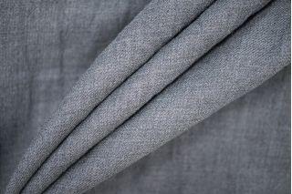 Плательная шерсть серая армированная PRT- G6 007  12071939