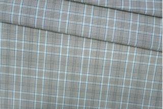 Тонкая костюмная шерсть в клетку PRT-T5 13071901
