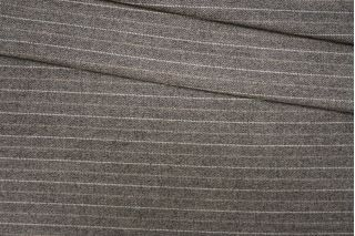 Твид бежево-коричневый в полоску PRT-E4  13071905
