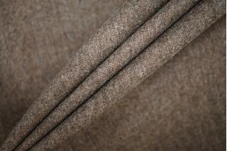 Твид коричневый шерстяной PRT-E4 13071907