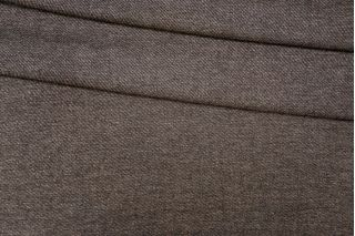 Костюмная шерсть черно-коричневая PRT- 041 I6  13071911