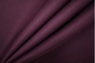 Костюмная шерсть темно-сливовая PRT-X6 24071905