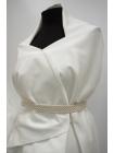 ОТРЕЗ 2,2 М Хлопок костюмный белый PRT-C5 11061903-1