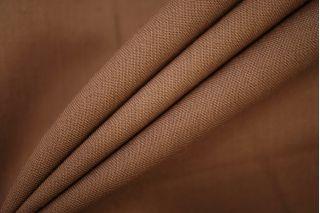 Костюмно-плательная шерсть с шелком коричневая PRT-T4 03071901