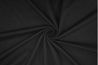 Джерси тонкий вискозный черный PRT-K4 07061924