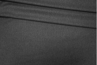 Костюмно-плательная фланель шерстяная темно-серая PRT-К4 14071916