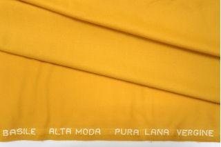 Костюмная шерсть насыщенная желтая PRT-G3 23061906