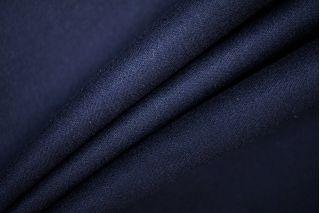 Костюмная фланель шерстяная темно-синяя PRT-T4 23061911