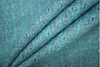 Жаккард шерстяной серо-голубой PRT-T4 23061912