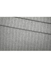 Костюмная шерсть серая в полоску PRT-T5 24071921
