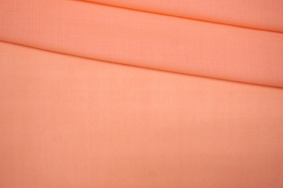 ОТРЕЗ 0,9 М Плательная шерсть персиковая PRT-T4 25071901-1