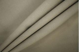 Костюмная шерсть серо-оливковая PRT-G3 25071910