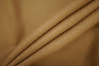 Костюмная шерстяная фланель с эластаном темно-песочная PRT-T5 25071911