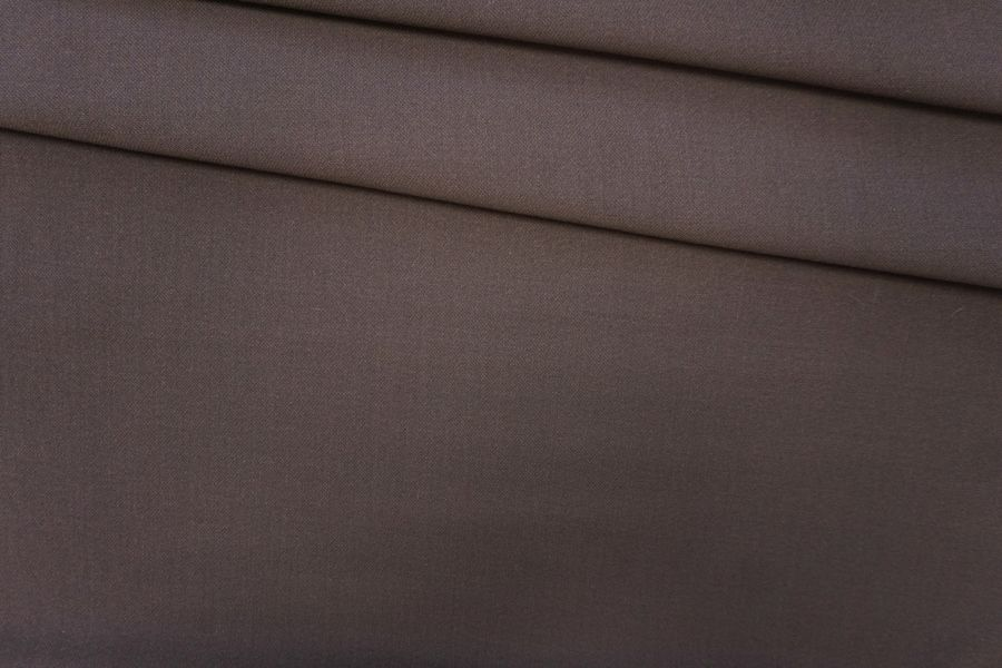 Костюмная шерсть серо-коричневая PRT-G2 25071912