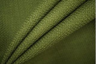 Костюмно-пальтовая шерсть зеленого цвета PRT-F6 25071913
