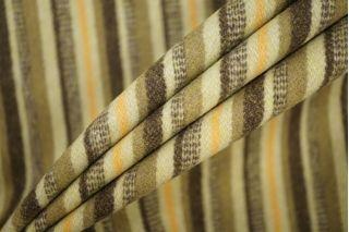 Пальтовая шерсть в полоску зеленая PRT-T4 25071931