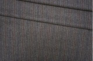 Твид коричневый пальтовый в елочку PRT-G3 25071933
