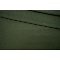 Креп шерстяной темно-болотный PRT-T4 28061901