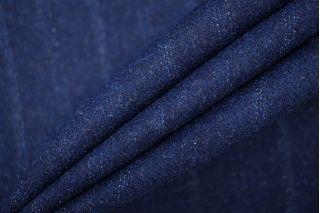 Твид в полоску темно-синий PRT-T5 28061904
