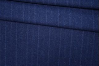 Твид в полоску темно-синий PRT-T4 28061904