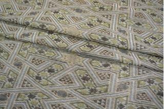 Жаккард хлопок с шелком орнамент PRT-D3 01021934
