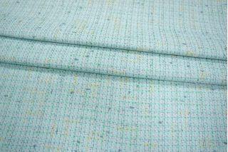 Хлопковая шанель светлая бирюза с люрексом PRT-G4 01021940