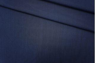 Плательная шерсть с вискозой темно-синяя PRT-G5 11061902