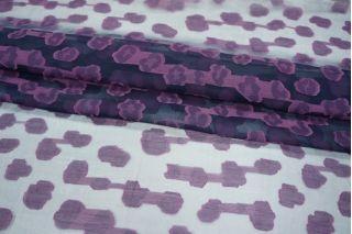 Шелк с хлопком фиолетовый PRT-G3 02021901
