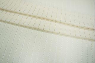 Трикотаж вискозный ажурный белый PRT 23041929