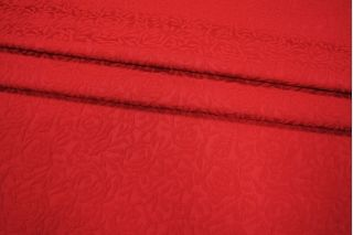 Жаккард хлопковый красные розы PRT-D3 02021938