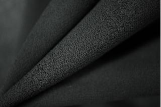 Шифон черный хлопок с вискозой PRT-D5 02021950
