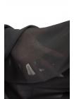 ОТРЕЗ 1.85 М Шифон черный хлопок с вискозой PRT-D5 02021950-1