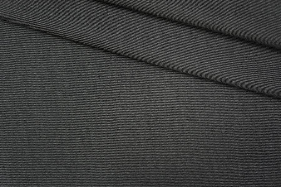 Костюмная шерсть черно-серая PRT-G2 07061943