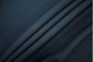 Трикотаж вискозный креповый темный черно-синий PRT-H2 10061914