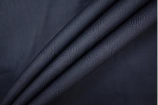 Хлопок темно-синий плательный в елочку PRT-B2 11061905