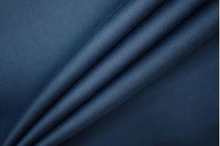 Сатин костюмно-плательный темно-синий PRT-B2 18061903