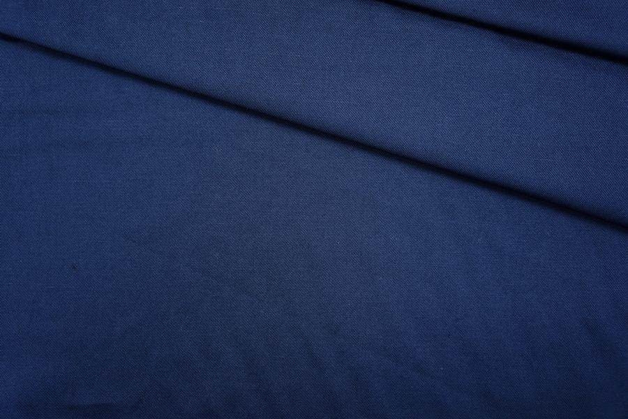 Хлопок костюмный темно-синий PRT-В3 18061910