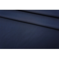 Тонкая костюмная вискоза-стрейч темно-синяя PRT-H6 24061916